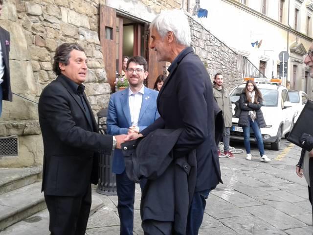 foto, lachi, sindaco agnelli,  nipote di napoleone e alain borghini del medagliere .jpg