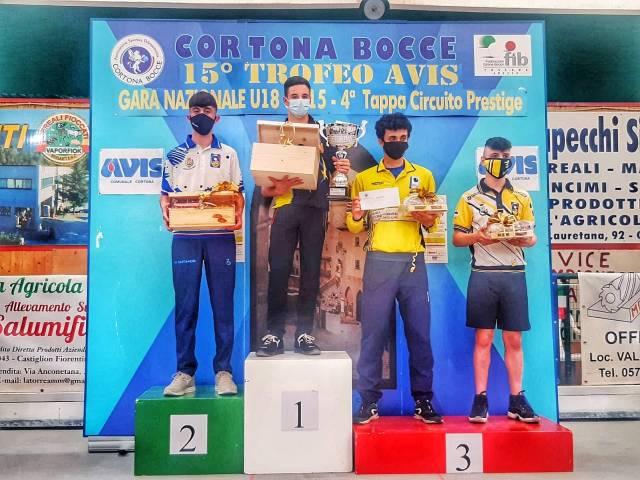 Trofeo AVIS Cortona 06 06 21 Premiazione Podio U18.jpeg