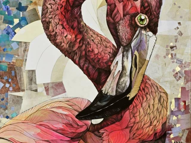 opera 2 - Essere Fenicottero - Il grande Rosa.jpg