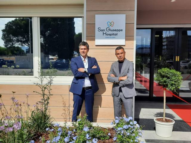Federico Guidoni, Ceo Korian Italia e Paolo Rosati, Presidente CdA Assisi Project.jpeg