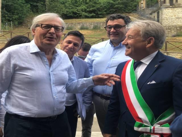 Arrivo Vittorio Sgarbi.jpg